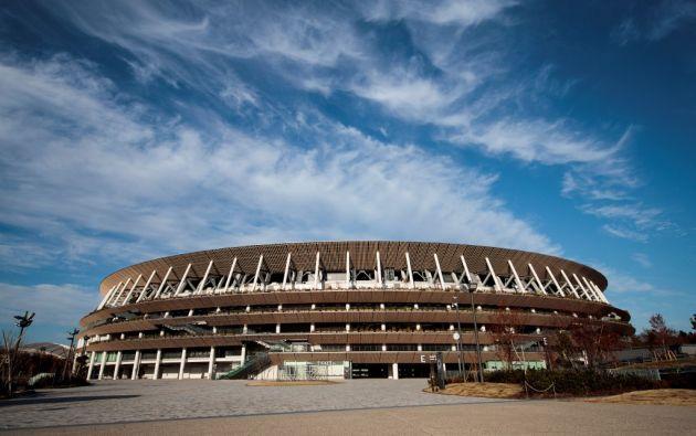 No solo es tecnología, el estadio homenajea a la pagoda del templo de Horyuji, erigida hace 1.300 años. Foto: AFP.