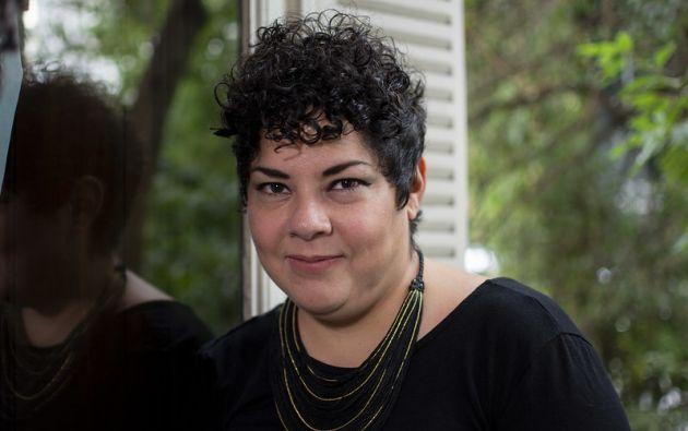 """María Fernanda Ampuero, gerente del Plan Nacional del Libro y la Lectura """"José de la Cuadra"""". Foto: Casa de América."""