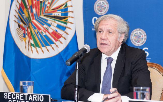 El uruguayo Luis Almagro aspira a la reelección en la OEA. Foto: Flickr OEA.