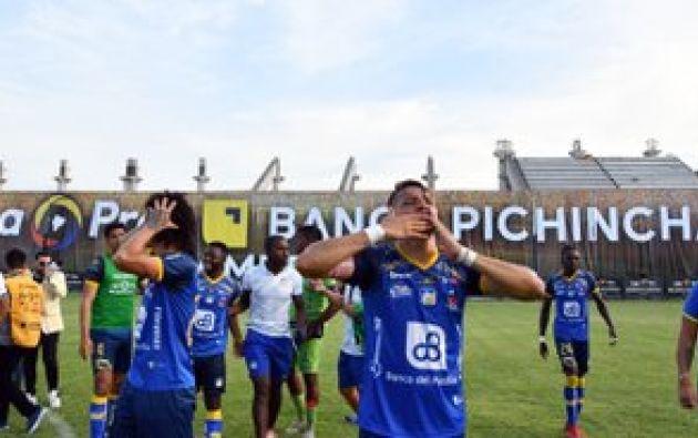 Delfín, primer equipo manabita que es campeón nacional. Fot: Liga Pro Ecuador.