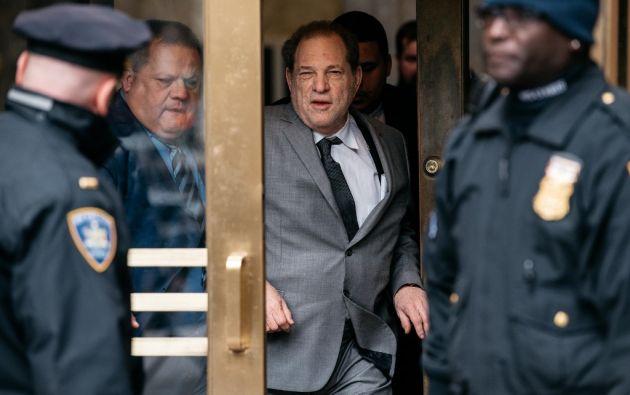 El productor puede llegar a enfrentarse a cadena perpetua si es declarado culpable. Foto: AFP