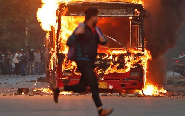 Desde hace semanas, se llevan a cabo manifestaciones contra esta nueva ley. Foto: Reuters