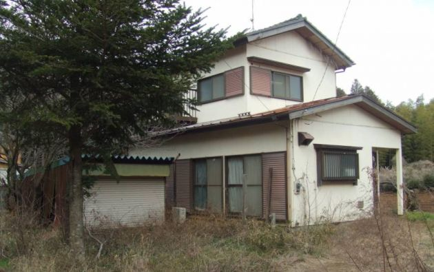 Esta casa abandonada se encuentra en la zona de Inzai, en la Prefectura de Chiba.