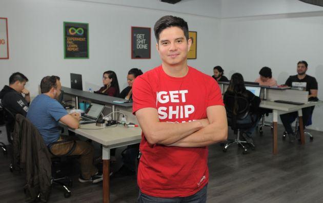El ecuatoriano Luis Loaiza es uno de los fundadores de Shippify.