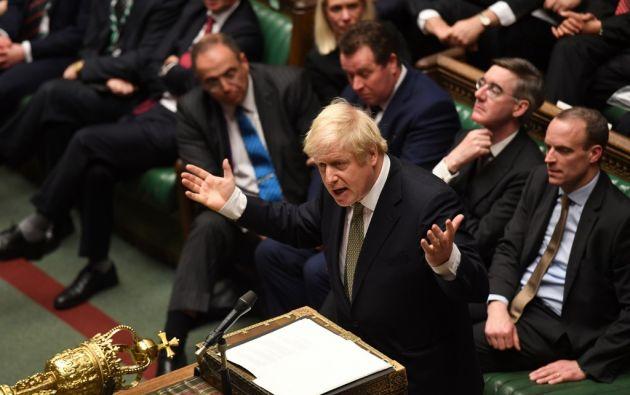 La nueva Cámara de los Comunes aprobó la primera fase del proyecto de ley. Foto: AFP