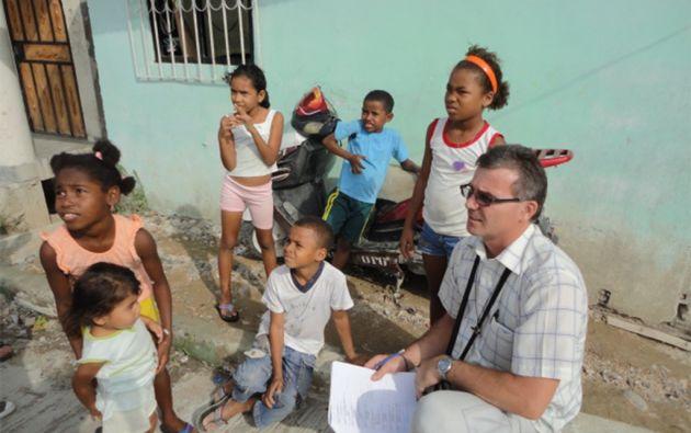 """Entre 2016 y 2019 se ha desempeñado como párroco de """"San Agustín"""" en Flavio Alfaro y Novillo, provincia de Manabí."""