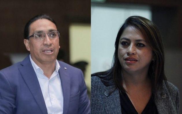 Hernández y Pabón cumplen prisión preventiva por el delito de rebelión.