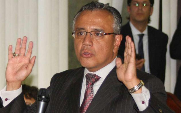 El exsecretario jurídico de la Presidencia se mantiene en arresto domiciliario en Guayaquil.