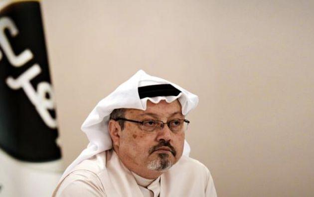 Jamal Khashoggi, un colaborador del Washington Post, fue asesinado en octubre de 2018, cuando tenía 59 años. Foto: AFP.