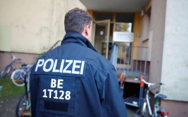 Policía alemana. Foto: archivo Reuters