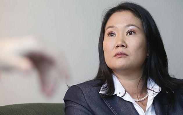 La líder opositora Keiko Fujimori afrontará una nueva investigación en Perú. Foto: AFP.