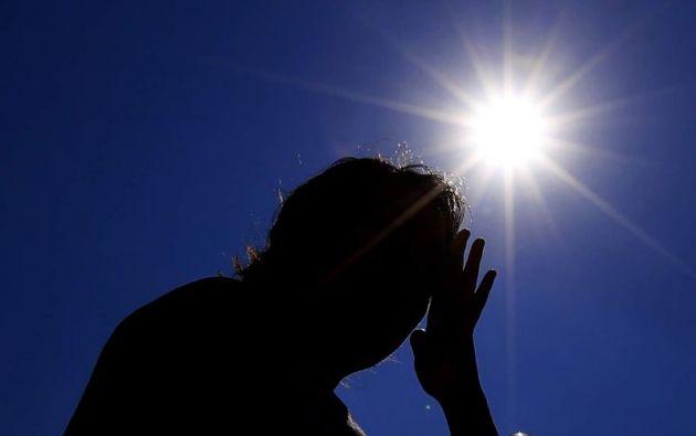 A partir del nivel 8, el Instituto Nacional de Meteorología e Hidrología recomienda buscar la sombra.