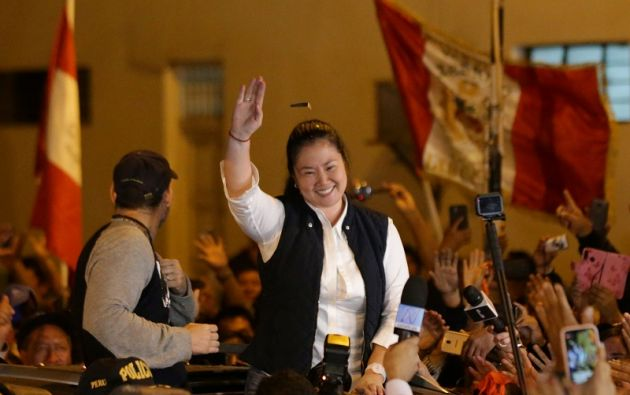 Fujimori salió en libertad el 29 de noviembre, tras permanecer casi 13 meses en prisión preventiva. Foto: Reuters