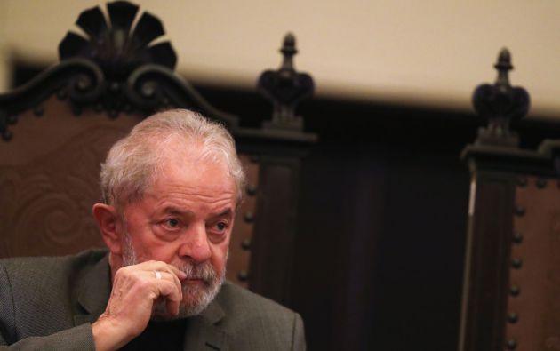 El expresidente de Brasil Luiz Inácio Lula da Silva es acusado en un nuevo proceso por lavado de dinero y corrupción. Foto: Reuters.