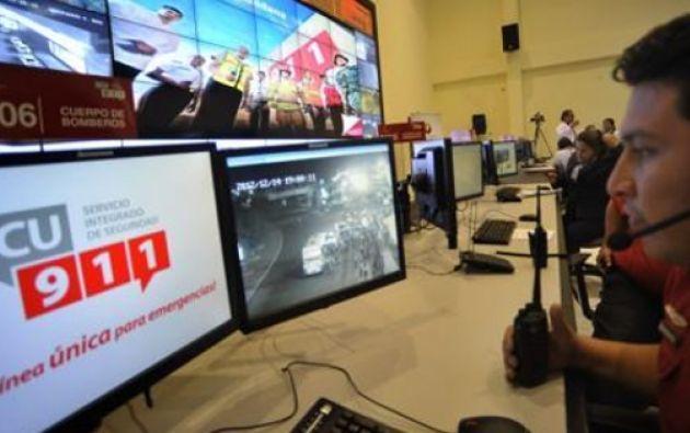 5.848 cámaras de videovigilancia, desde los 16 centros y salas operativas que la institución tiene a escala nacional.