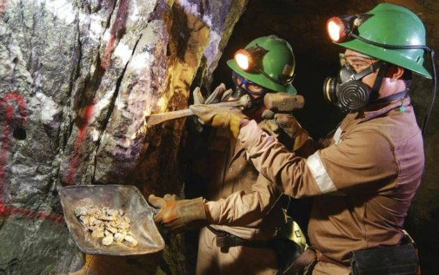 Ecuador exportó barras y concentrados de minerales como oro, plata, plomo y otros minerales.