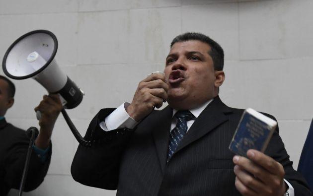 La elección de Parra estuvo envuelta en polémica. Foto: AFP
