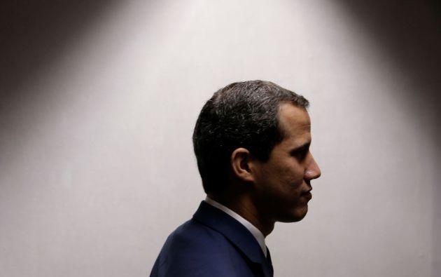 Juan Guaidó reclamó el 23 de enero de 2019 la presidencia interina de Venezuela, con el apoyo de medio centenar de naciones. Foto: Reuters.
