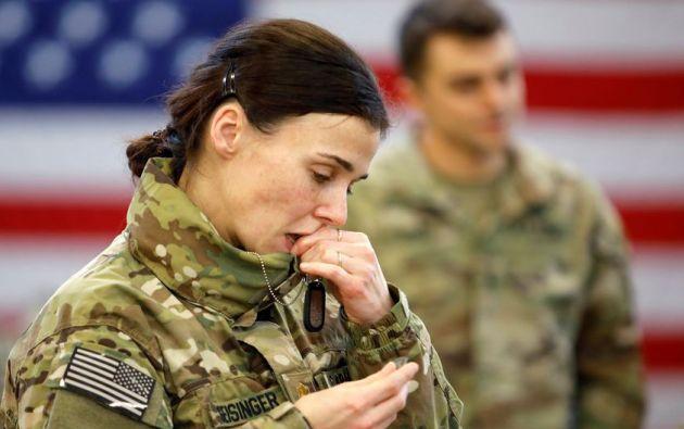 El Parlamento iraquí votó el domingo para pedir la expulsión de las tropas estadounidenses del país: unos 5.200 soldados. Foto: Reuters.