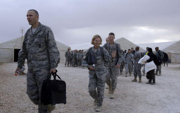 """Estados Unidos """"no abandona Irak"""", su política no ha cambiado. Foto: AFP"""