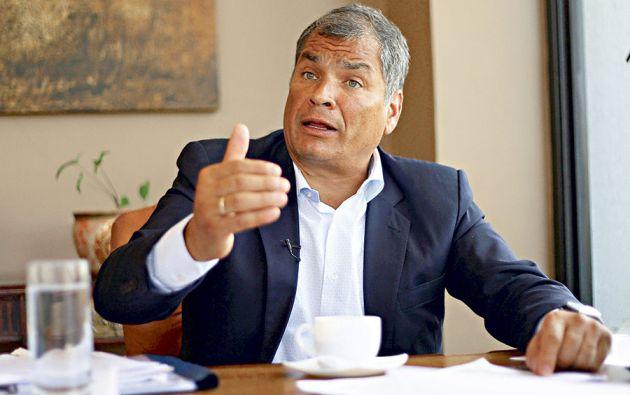 Por presunto cohecho fue llamado a juicio el expresidente Rafael Correa. Foto: Reuters