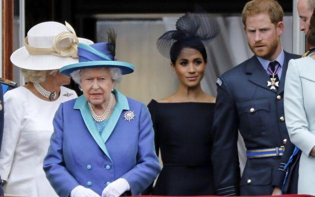 """La pareja no participará en el sistema de la """"Royal Rota"""". Foto: AFP"""