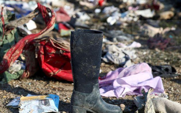 El Boeing 737-800 que viajaba de Teherán hacia Kiev se estrelló en suelo iraní, sus 176 ocupantes murieron.