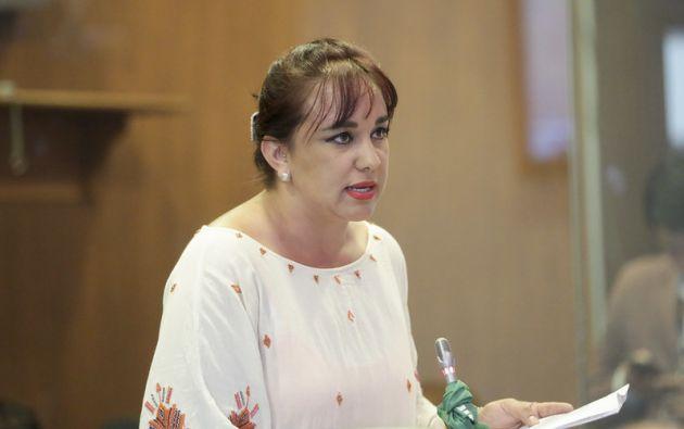 Rivadeneira viajó el jueves a México tras salir de la Embajada de ese país en Quito.