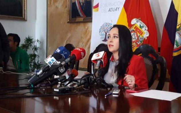 Ordoñez denunció en rueda de prensa un nuevo caso de corrupción sobre títulos falsos de cuarto nivel de médicos cirujanos.