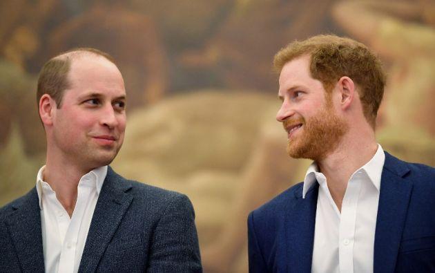 William y Harry publicaron una declaración conjunta. Foto: AFP