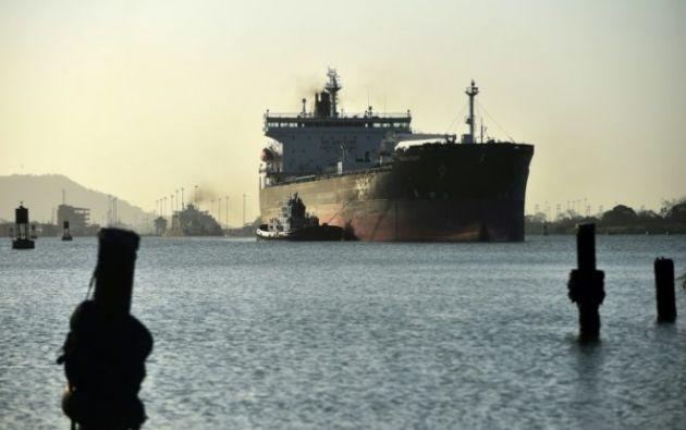 """Las medidas van a traer """"una reducción del tránsito"""" de buques. Foto: AFP"""