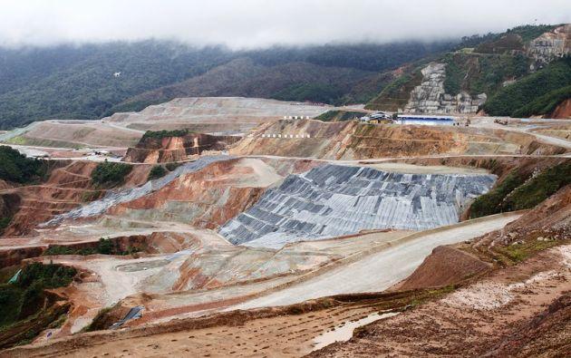 Mirador es la primera mina de cobre a gran escala que opera en el Ecuador.