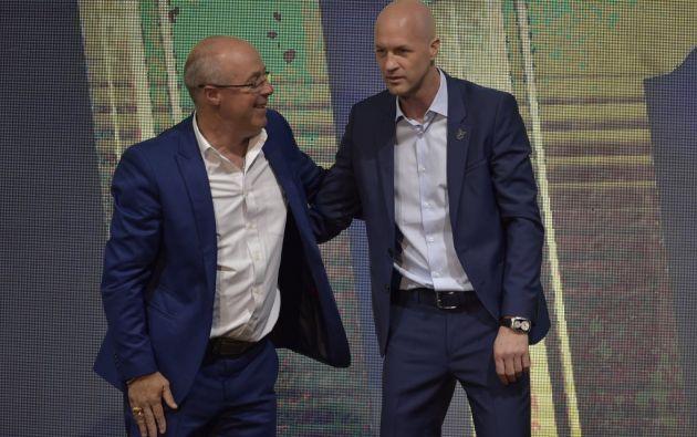 Jorge Célico, entrenador de las tricolores juveniles, colaborá con información para Jordi Cruyff, técnico de la Selección de mayores.