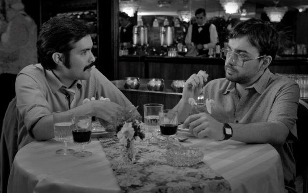 """Rodada en blanco y negro, """"Panamá"""" es la última cinta del quiteño Javier Izquierdo."""