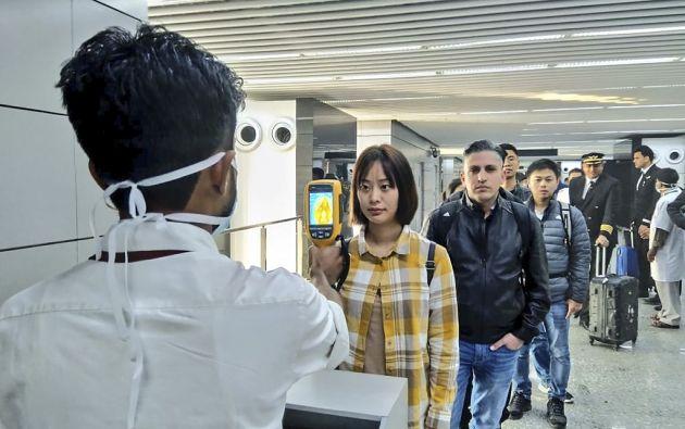 En el extranjero, por el momento se han detectado al menos 4 casos en Tailandia, y uno en Japón, Corea del Sur, Taiwán y Estados Unidos. Foto: AFP