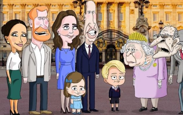 """La serie representará a los Windsor a través de """"los ojos del joven príncipe Jorge""""."""