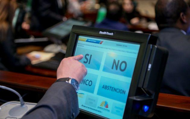 El Legislativo se ratificó en 10 artículos y se allanó a 8 del veto del Ejecutivo.