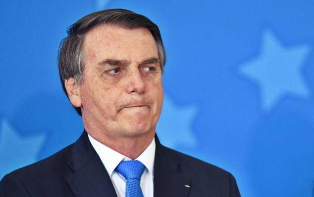 """Bolsonaro dijo que cada vez más """"el indio es un ser humano"""" como los blancos. Foto: AFP."""