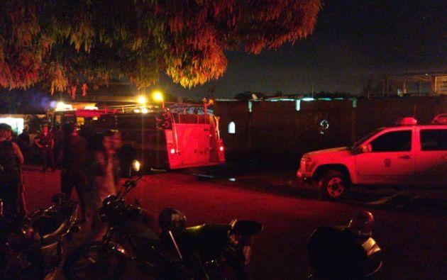 Al menos 11 personas, 9 de ellos menores de edad, murieron en un incendio en Cagua, Venezuela. Foto: Twitter.