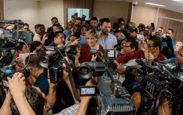 El juez dictaminó que debía pagarse el monto adeudado a la Alcaldía en un plazo de 72 horas. Foto: Twitter.