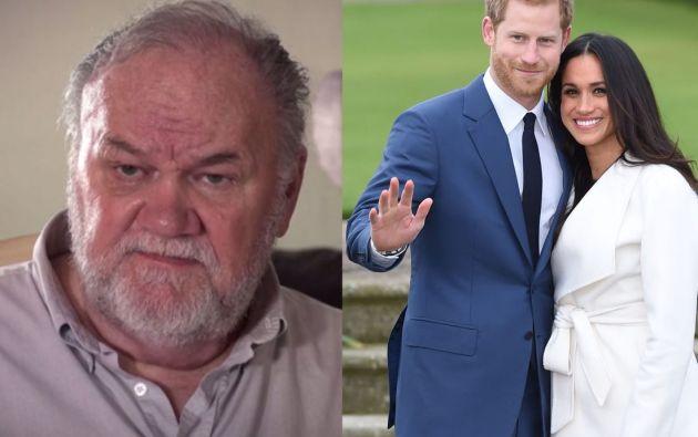 """Thomas Markle es el principal testigo en las acciones legales de Meghan contra el diario """"Mail on Sunday""""."""