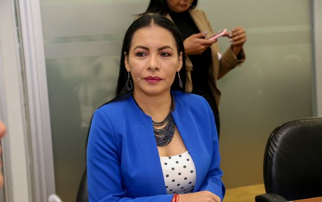 La presidenta del CNE es acusada de presunto incumplimiento de funciones.