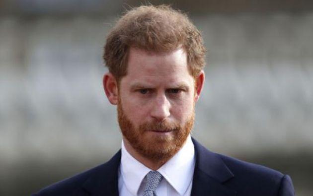 El príncipe, junto con su esposa Meghan, inició acciones judiciales contra varios medios.  Foto: AFP
