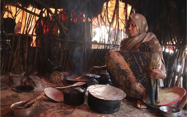 Seis millones de personas están desnutridas en Etiopía pese a una buena última cosecha.