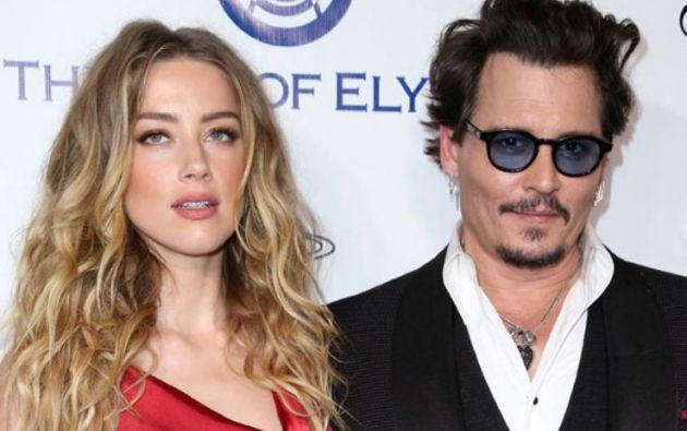 El matrimonio de Amber Heard y Jhonny Depp solo duro dos años.