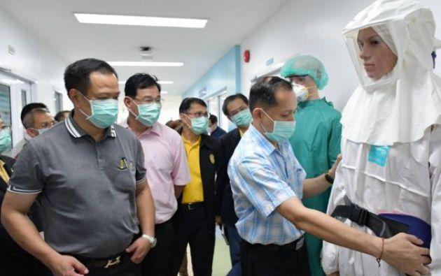 La víctima es un hombre de 44 años que ingresó en el Hospital San Lázaro de Manila el 25 de enero.| Foto: AFP