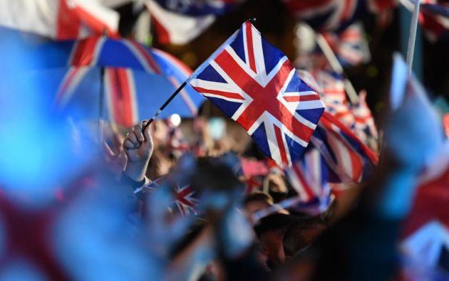 El 31 de enero de 2020, el Reino Unido salió de la Unión Europea.  Foto: AFP