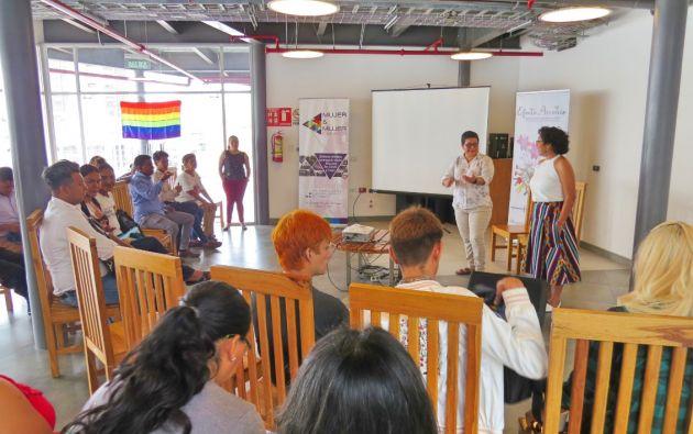 El proyecto Efecto Arcoiris, de la fundación Mujer & Mujer, busca la autonomía económica de las personas LGBTI.