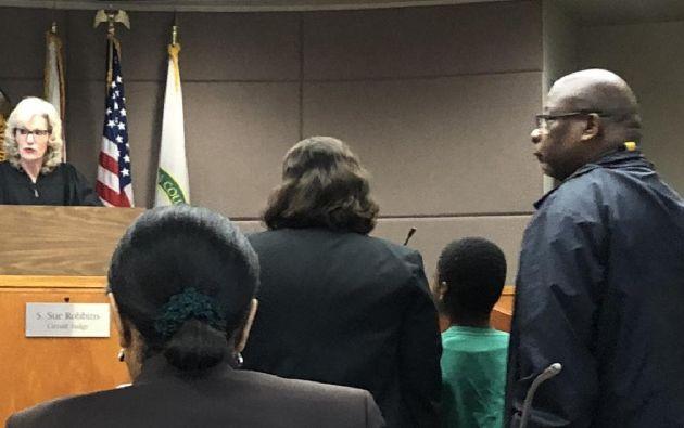 El niño que hoy compareció ante un juez del condado Marion está detenido desde el lunes 27 de enero.
