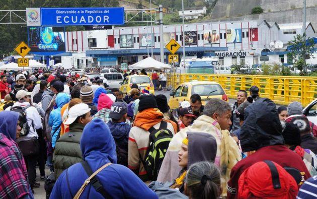 El presidente Moreno pidió endurecer la ley para expulsar a extranjeros que delinquen.